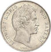 2 Thaler / 3½ Gulden - Ludwig I – avers