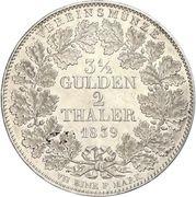 2 Thaler / 3½ Gulden - Ludwig I -  avers