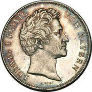 2 Thaler / 3½ Gulden - Ludwig I (Mariage) – avers