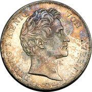 2 Thaler / 3½ Gulden - Ludwig I (Walhalla) – avers