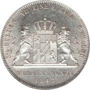 2 Thaler / 3½ Gulden - Ludwig I – revers