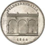 2 Thaler / 3½ Gulden - Ludwig I (Feldherrenhalle) – revers