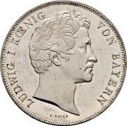 2 Thaler / 3½ Gulden - Ludwig I (Chancellor Baron von Kreittmayr) – avers