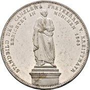 2 Thaler / 3½ Gulden - Ludwig I (Chancellor Baron von Kreittmayr) – revers