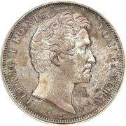 2 Thaler / 3½ Gulden- Ludwig I (évêque Julius Echter von Mespelbrunn) – avers
