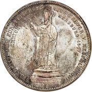 2 Thaler / 3½ Gulden- Ludwig I (évêque Julius Echter von Mespelbrunn) – revers