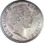2 Thaler / 3½ Gulden - Maximilian II (Constitution) – avers