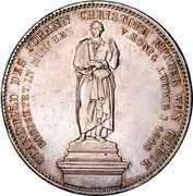 2 Thaler / 3½ Gulden - Maximilian II (Johann Christoph von Gluck) – revers
