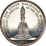2 taler / 3½ gulden Maximilian II (Monument) – revers