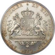 2 vereinsthaler - Maximilian II – revers