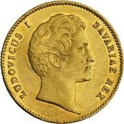 1 ducat Ludvig I (Rheingold) – avers