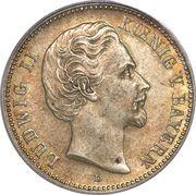 2 mark - Ludwig II – avers