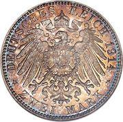 2 mark - Ludwig III – revers