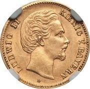 5 Mark - Ludwig II – avers
