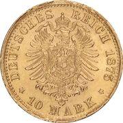 10 Mark - Ludwig II – revers