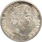 6 kreuzer - Ludwig I – avers