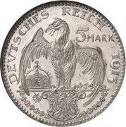 5 Mark - Ludwig III – revers
