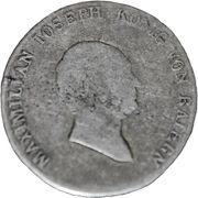 20 Kreuzer - Maximilian IV Joseph – avers
