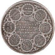 2 Thaler / 3½ Gulden - Ludwig I (Renouvellement) – revers