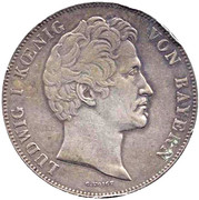 2 Thaler / 3½ Gulden - Ludwig I (Canal) – avers