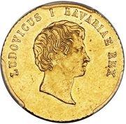 1 ducat Ludwig I. – avers
