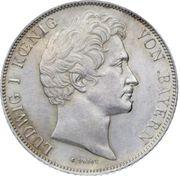 1 gulden - Ludwig I – avers