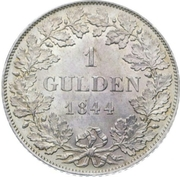 1 gulden - Ludwig I – revers
