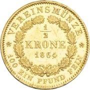 ½ Krone - Maximilian II. – revers