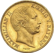 1 Krone - Maximilian II. – avers