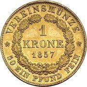 1 Krone - Maximilian II. – revers