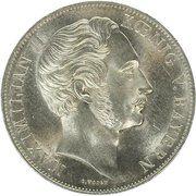 2 gulden - Maximilian II (colonne d'Madonna) – avers