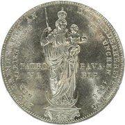 2 gulden - Maximilian II (colonne d'Madonna) – revers
