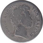 6 kreuzer Ludwig I – avers