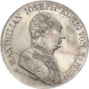 1 Thaler - Maximilian IV, Josef – avers
