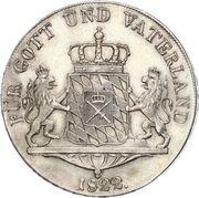 1 Thaler - Maximilian IV, Josef – revers