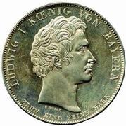1 Thaler - Ludwig I (Traité commercial) – avers