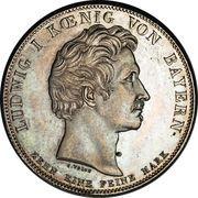 1 Thaler - Ludwig I (Union douanière) – avers