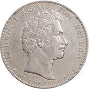 1 Thaler - Ludwig I. (Geschichtstaler) – avers