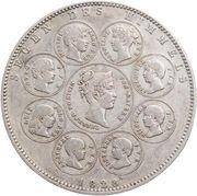 1 Thaler - Ludwig I. (Geschichtstaler) – revers