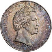 1 Taler - Ludwig I. (Geschichtstaler) – avers