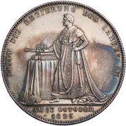 1 Taler - Ludwig I. (Geschichtstaler) – revers
