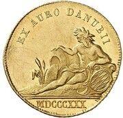 1 Ducat - Ludwig I (Donaugold-Dukat) – revers