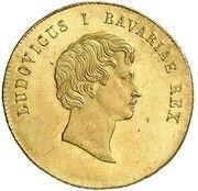 1 Ducat - Ludwig I (Rheingold-Dukat) – avers