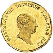 1 Ducat - Maximilian Joseph (Donaugold-Dukat) – avers