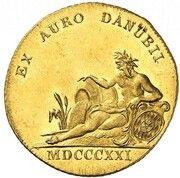1 Ducat - Maximilian Joseph (Donaugold-Dukat) – revers