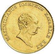 1 ducat Maximilian Joseph (Isargold-Dukat) – avers