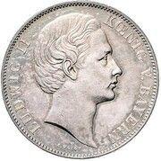 1 Vereinsthaler - Ludwig II – avers