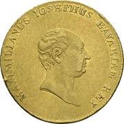 1 ducat Maximilian Joseph (Rheingold-Dukat) – avers