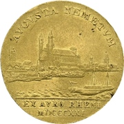 1 ducat Maximilian Joseph (Rheingold-Dukat) – revers