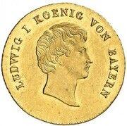 1 ducat Ludwig I – avers